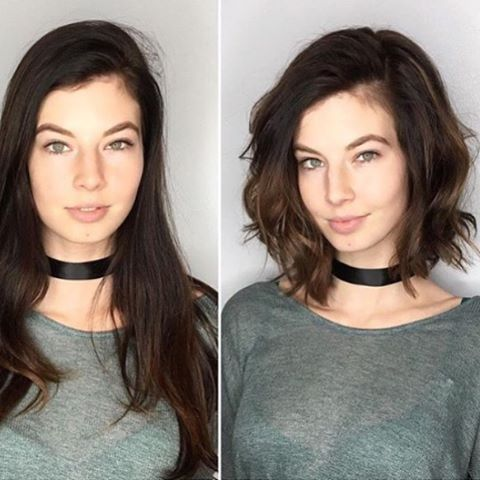 Hairstyles for round faces; short hair styles; short bob hair styles; short haircuts for women; short curly haircuts.