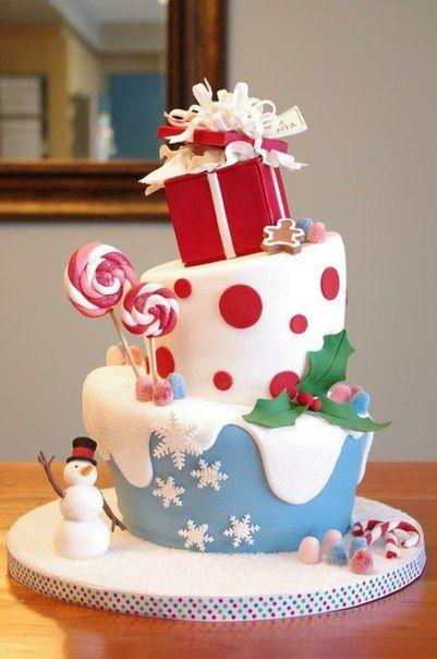 Christmas cakes decorating easy; Christmas cake ideas and designs; Christmas wedding cake; Christmas tree cake; birthday cake.